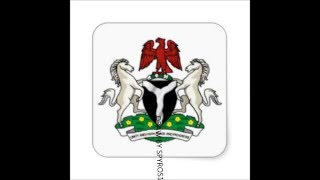 STICKER COAT OF ARMS NIGERIA