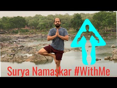surya namaskar withme  yoga for wellness  youtube