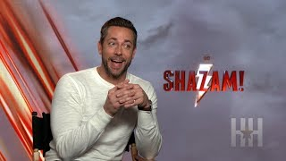 Kazaam Or Shazam? Zachary Levi Has Words For Shaq