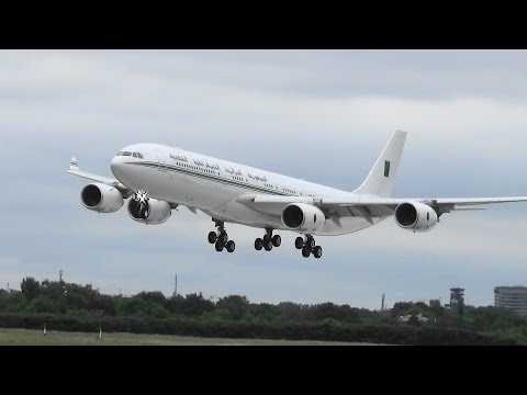 Algerian Government Airbus A340 [7T-VPP] | Flight Test @ Hamburg Airport