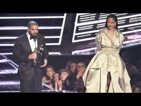 Mtv Vma Drake Proposes Rihanna At Vmas Youtube
