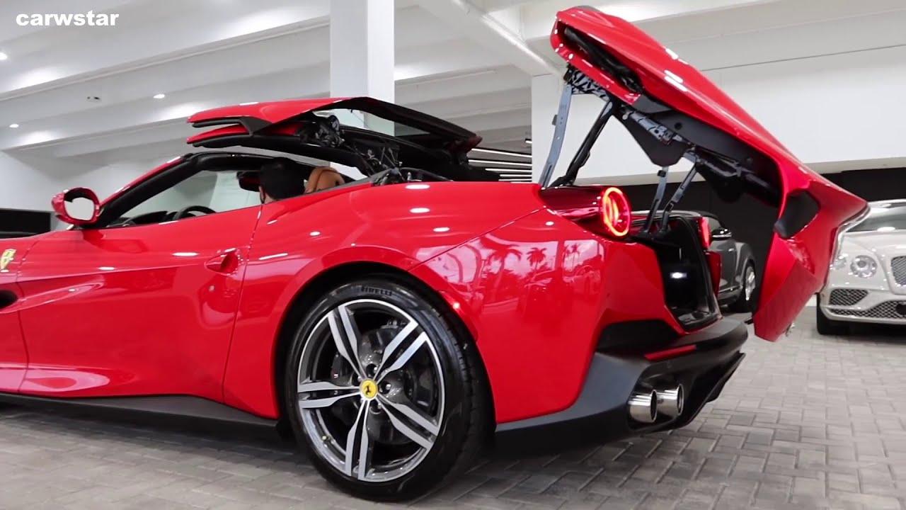 All New Ferrari Portofino V8 612hp Interior Exterior Youtube