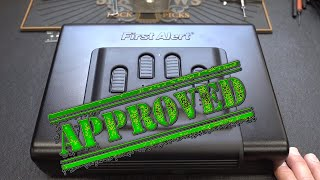 (1526) Review: First Alert Personal Safe (RA31424)