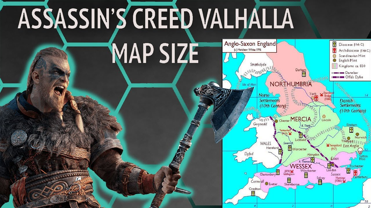 Let S Talk About Assassin S Creed Valhalla S Map Size Youtube