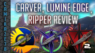 Carver, Ripper & Lumine Edge Knife Review | Planetside 2 Gameplay