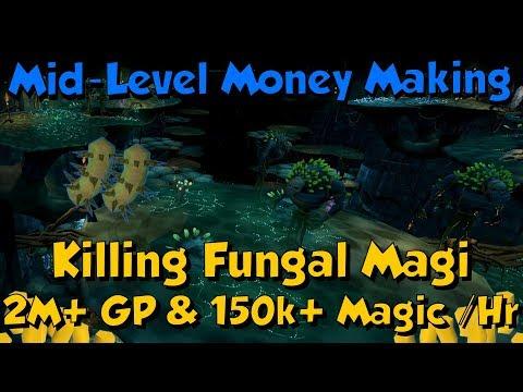 Fungal Mage! Mid-Level Money Making [Runescape 3] 2M+ Gp & 150k+ Magic Xp/Hr