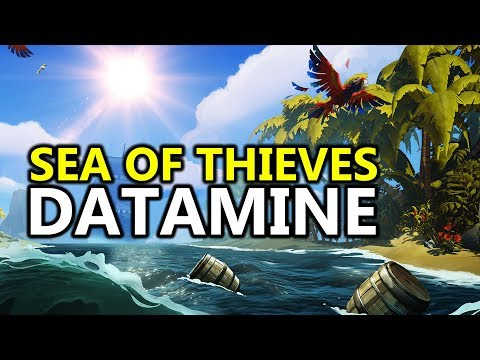 ♥ Let's Talk About The Sea of Thieves Beta Datamine