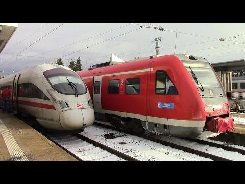DB IC 2901 Jena Paradies ⇒ Bamberg ICE T Substituiert