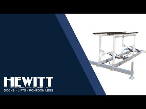 Hewitt Hydraulic Boatlifts