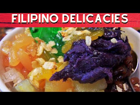 10 FILIPINO DELICACIES YOU CANNOT RESIST TO TRY|FULL HD
