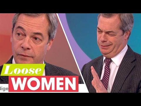 Nigel Farage Gives His Views on Donald Trump's Refugee Ban | Loose Women
