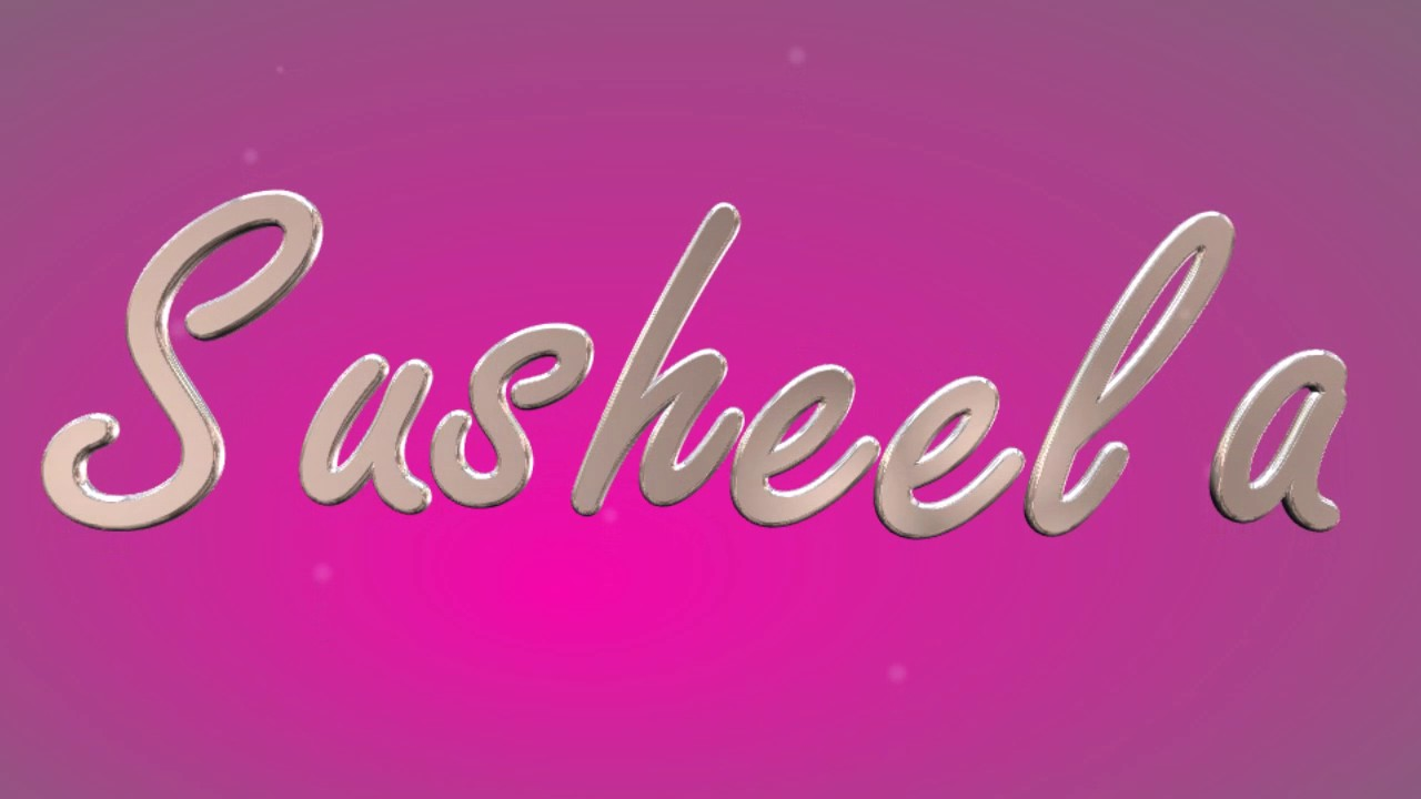 susheela name