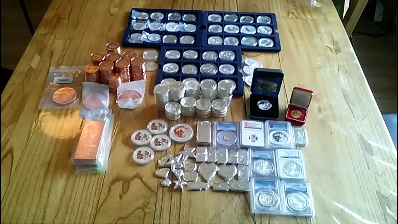 My Entire Bullion Stack Gold Silver Amp Copper Nearly 500