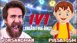 1v1 Against The Bęst 16 Year Old Freestyler In The World...Pulse OSM
