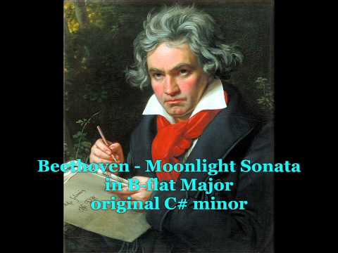 Beethoven - Moonlight Sonata (D-flat Major - alternate key)
