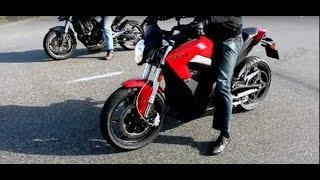 Electric motorcycle Zero SR VS Honda 600 Hornet VS SUZUKI 1300 B-King fullpower