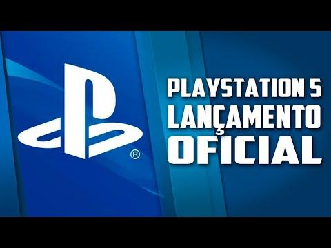 Playstation 5 lançamento oficial e o novo controle inovador