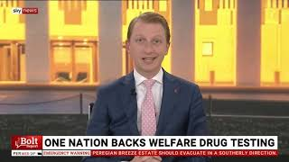 Senator Paterson on the Bolt Report discussing newstart trials, Gladys Liu, and Afghan peace talks