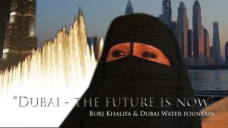 Dubai 2013 - Oman VAE Burj Khalifa Water Fountain (Full Show) • Luxury & Tradition