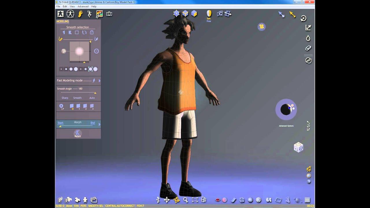 introduccion a poser 8 software para crear personajes 3d