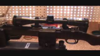 Argentine Mauser project. scope mounted/clearance