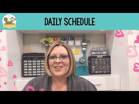 Daily Schedule In Preschool