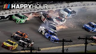 Major crashes and a first time winner at Daytona| NASCAR Happy Hour