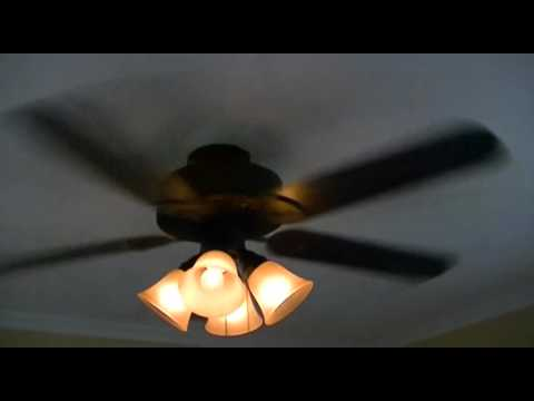 Harbor breeze springfield ii ceiling fan youtube harbor breeze springfield ii ceiling fan mozeypictures Images