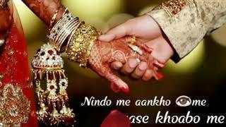 Nindo me ankho me pyase khabo me