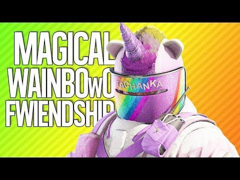 MAGICAL WAINBOwO FWIENDSHIP   Rainbow Six Siege
