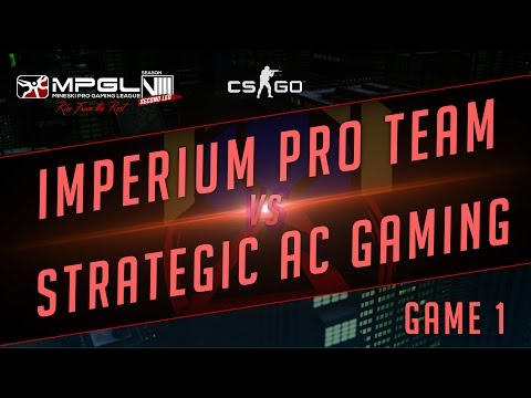 Imperium Pro Team vs Strategic Gaming - Mineski Pro Gaming League S8 CS:GO - Game 1 [Week 3]