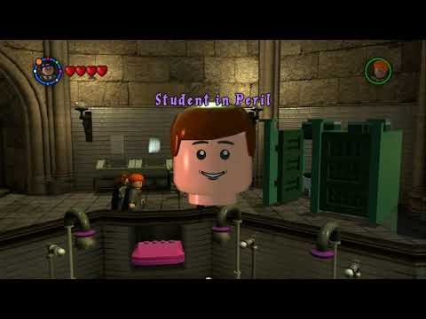 LEGO Harry Potter: Years 1-4 - All Hogwarts Student in Peril