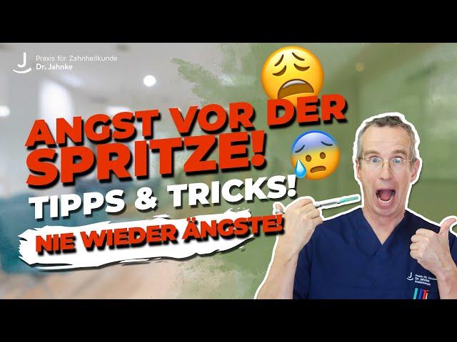 Keine Angst mehr vor der Spritze! Unterschiedliche Arten erklärt | Live Spritze | Dr. Jahnke