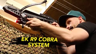 ek archery cobra r9 crossbow video, ek archery cobra r9