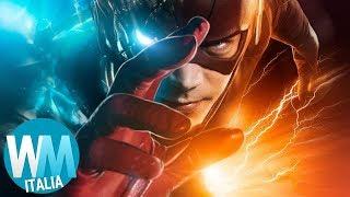 Top 10 SUPEREROI MARVEL e DC PIÙ VELOCI!