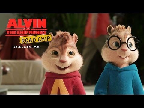 Alvin and the Chipmunks: The Road Chip   Chip Advisor: Security Line [HD]   FOX Family