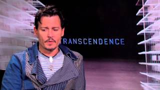 Transcendence: Johnny Depp Official Interview
