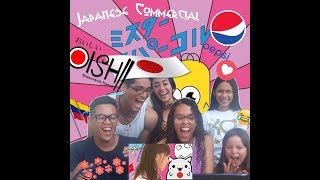 REACTION VIDEO japanese commercial (part 1)