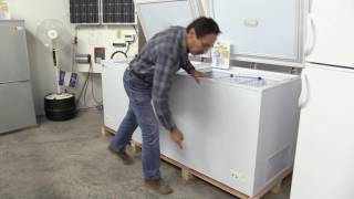 Missouri Wind and Solar New DC Sunstar Freezers and Refrigerators