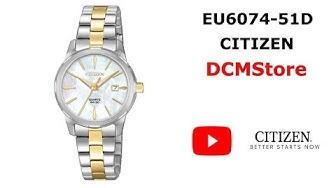 EU6074-51D Citizen Quartz Madre Peral Dial ...... DCMStore