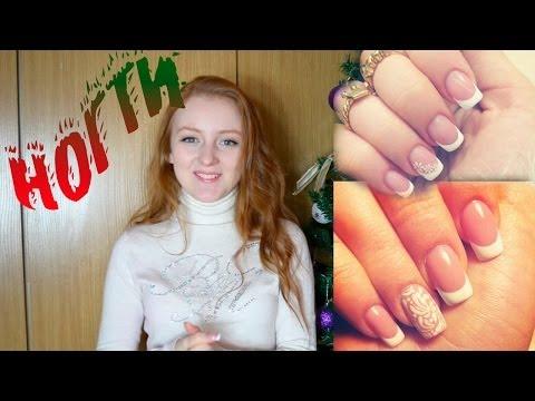 Видео по наращиванию ногтей, видеоролик дизайн ногтей