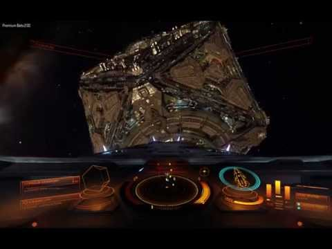 Anaconda with no engines trying to dock