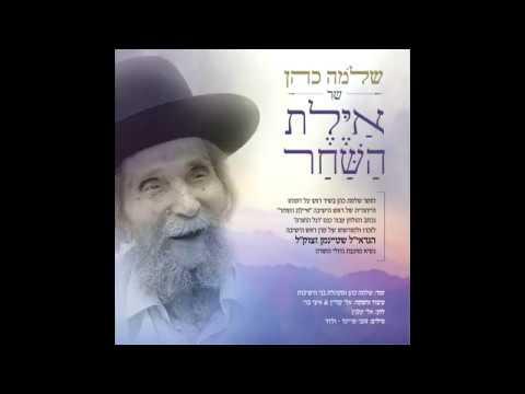 """שלמה כהן-'וידום אהרן'-שיר לזכרו של מרן הרב שטיינמן זצוק""""ל"""