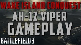 battlefield 3 ah 1z viper dominating on wake island live team chat