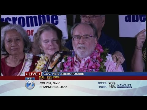 Abercrombie concedes Democratic race for governor