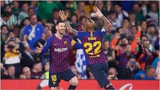 Geniestreich von Lionel Messi bei Kantersieg des FC Barcelona gegen Real Betis