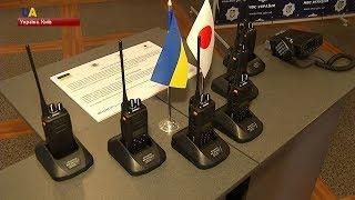 Комплекс сучасних радіостанцій отримала Національна поліція України від уряду Японії