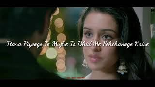 Itana piyoge to mujhe bheed me pahchanoge kaise (Aashiqui 2 dialogue mix)