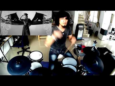 Avenged Sevenfold - Hail to the King  (Electric Drum cover by Neung) 2