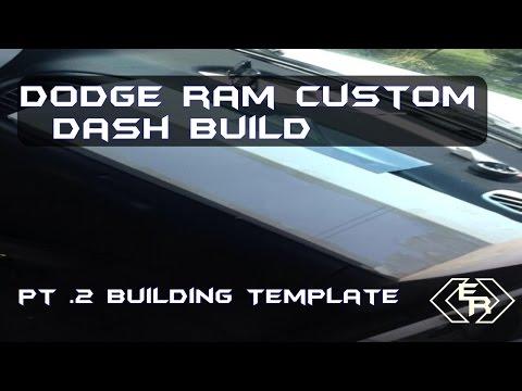 Dodge Ram Custom Dash Build Pt.2| $30 Budget | Template